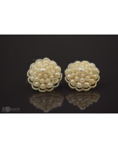 Victorian Natural Pearl Earrings