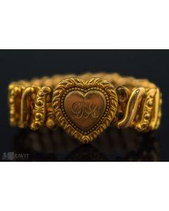 Victorian Gold Filled Sweetheart Bracelet