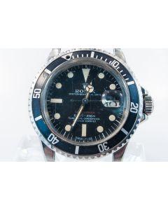 PRIVATE COLLECTION MK Rolex Red Submariner 1680 Superlative Chronometer  C.1970