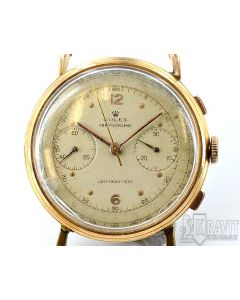 "Rolex Ref 4062 ""Coin Edge"" Anti Magnetic Chronograph 18k"