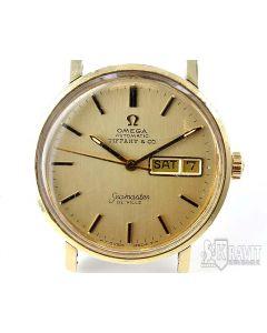 PRIVATE COLLECTION MK Rare 14K Omega Seamaster DeVille Tiffany & Co Watch C.1972