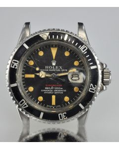 PRIVATE COLLECTION MK Rare Rolex RED Submariner Ref 1680 First Place Trophy Circa 1970