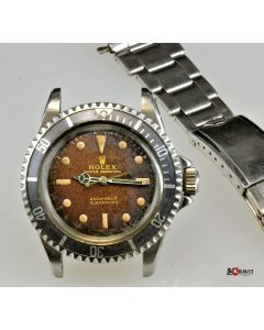PRIVATE COLLECTION MK Rare Tropical Rolex Submariner Ref 5513 Watch C.1965.