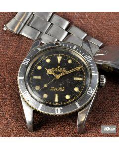 PRIVATE COLLECTION MK Very Rare Rolex James Bond Submariner Ref 6536/1 Circa 1957