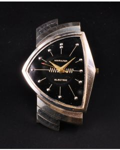 PRIVATE COLLECTION MK Rare 14k White Gold Hamilton Ventura Wrist Watch