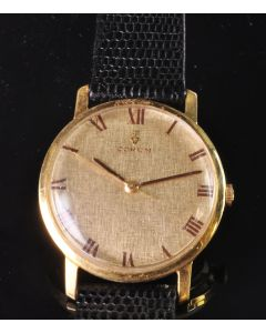 PRIVATE COLLECTION MK Rare 18k Yellow Gold Corum Wristwatch Owned by Howell Cosell