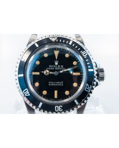 PRIVATE COLLECTION MK Super Rare Rolex Submariner Ref 5513 Wrist Watch, Circa 1966
