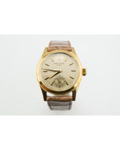 Men's 18K Waterproof Patek Philippe Wristwatch Ref.2483 Circa 1956