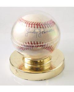 """Rawlings Autographed Baseball by """"Judy Johnson"""""""