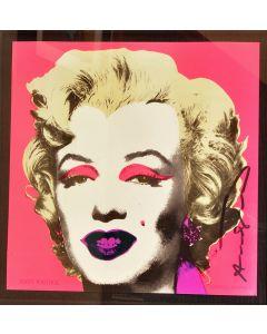 Framed Marilyn Monroe Litho by Andy Warhol