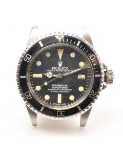"MK Men's Rare Rolex Ref 1665 ""Great White"" Mark III Sea-Dweller Wrist Watch Circa 1979"