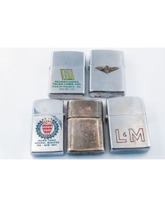Mid Modern Collection Of Zippo Lighters (5)
