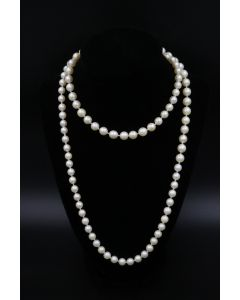 Single Strand Cultured Pearl Necklace