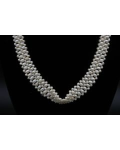 Victorian Style Fresh Water Pearl Necklace
