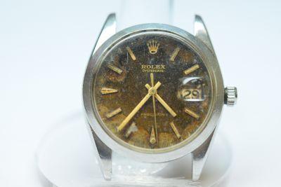 PRIVATE COLLECTION MK Men's Steel Rolex Oysterdate Wristwatch Ref 6694 Serial #1.389.243 Circa 1968