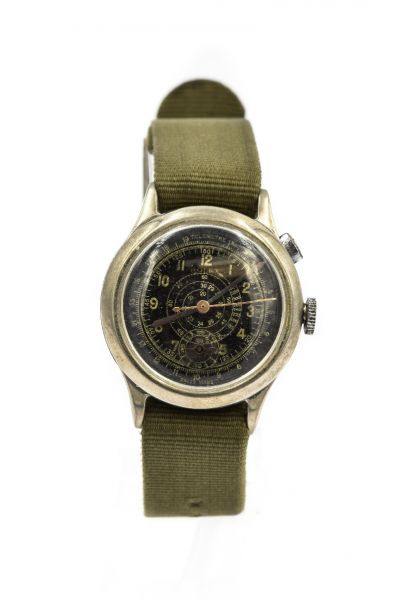 Men's Rolex Marconi Single Button Chronograph Ref 2507 Circa 1920's