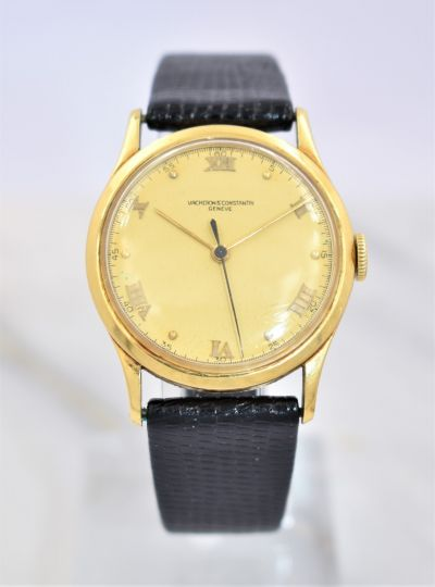 Rare Men's Vacheron Constantin Center Second Wristwatch Circa 1950's