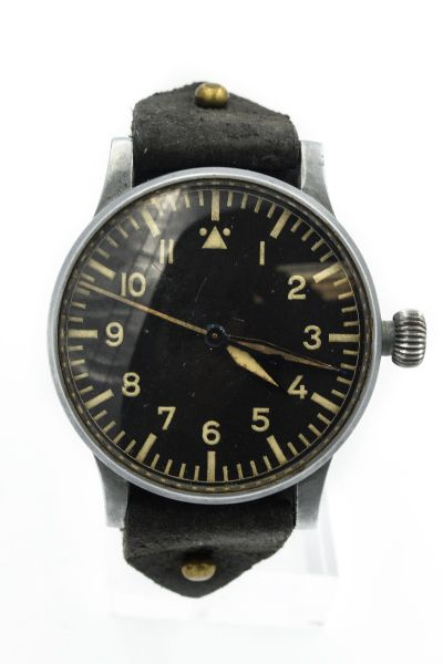 Rare Model A, Pilots Watch By Stowa B-Uhr No. 5122 Made in 1942 by Walter Storz