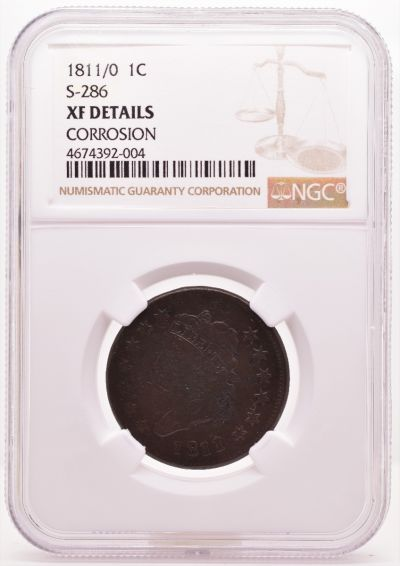1811/0 1C S-286 XF Details CORROSION NGC 4674392-004