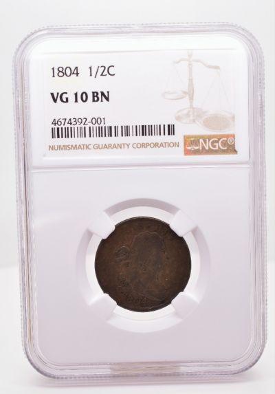 1804 1/2C VG 10 BN NGC 4674392-001