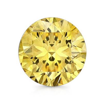 Round 18.48  Fancy Yellow, SI1 GIA 6214335853