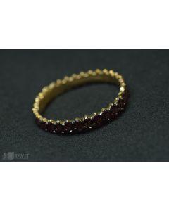 Victorian Gold Filled and Garnet Bracelet