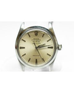 "PRIVATE COLLECTION MK Rare Steel Rolex Oyster Perpetual Air King ""Serpico Y Laino"" Ref 5500 Wristwatch Circa 1964"