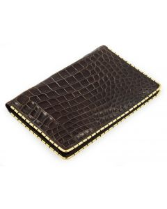 Jerry Lewis Black Alligator Bifold