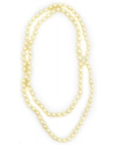 Estate 1970's Endless Pearl Necklace