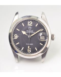 PRIVATE COLLECTION MK Rare Steel Tudor Ranger Wristwatch Ref 9050/0 Circa 1970's