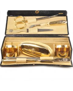 Cartier Victorian Yellow Gold Travel Manicure Set