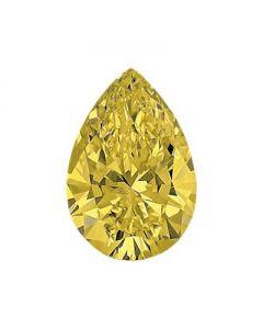 Pear 1.23 Natural FIY, SI2 GIA 6187744517