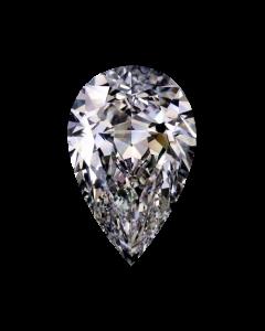 Pear 2.16 F, SI1 GIA 5212099652