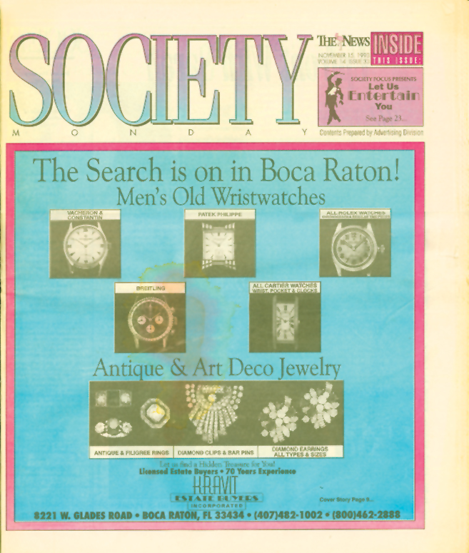 Society Monday Cover